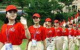 Ngắm vẻ đẹp hút hồn của đội cổ động viên Triều Tiên