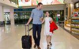 """Diễn viên Lan Phương đã đính hôn với bạn trai ngoại quốc chiều cao """"khủng"""""""