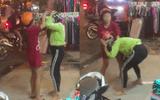 Người phụ nữ ôm bụng bầu 3 tháng đi đánh ghen giữa phố