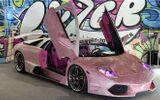 Choáng ngợp trước siêu xe Lamborghini đính 600.000 viên pha lê lấp lánh