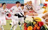 Tò mò trước chế độ dinh dưỡng nghiêm ngặt của U23 Việt Nam