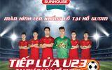 """Địa điểm """"tiếp lửa"""" cho đội tuyển U23 Việt Nam với màn hình LED khổng lồ"""