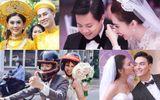 Điểm lại loạt đám cưới đình đám nhất của showbiz Việt năm 2017