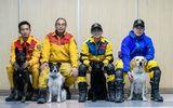 Đài Loan: Chú chó cứu hộ dũng cảm cứu người sau trận động đất