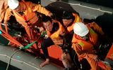 Bốn thuyền viên mất tích do tàu chìm do gặp thời tiết xấu