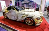 """""""Phát sốt"""" với loạt ôtô dát vàng của đại gia Trung Quốc"""