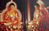 Xây tượng Phật dát 30kg vàng 24k ở miền Tây