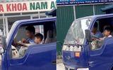 Video: Kinh hãi bé trai điều khiển xe tải chạy băng băng trên đường