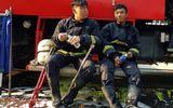 Những chiến sĩ PCCC quả cảm cứu người trong vụ cháy chung cư Carina Plaza