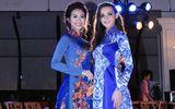 """Á hậu Liên Phương diện áo dài """"đọ dáng"""" cùng Hoa hậu Aibedullina Talliya"""