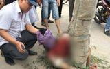 Cố lao đầu vào ô tô tự tử, nam thanh niên bị người dân trói vào gốc cây