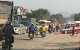 """""""Bảo kê"""" phân luồng cho dàn xe trọng tải lớn chạy hiên ngang trên đường mòn Hồ Chí Minh"""