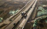 Trung Quốc xây đường năng lượng mặt trời, có khả năng tự sạc điện cho ôtô