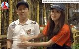 """Clip: Trường Giang chính là """"nam thần"""" cùng Hương Giang """"mang bầu"""""""