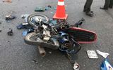 Tai nạn giao thông, nam bảo vệ chết thảm dưới bánh xe ben