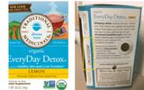 Uống trà chanh thải độc: Cảnh giác với lô hàng nhiễm khuẩn này