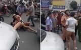 Video: Tài xế taxi vi phạm giao thông bị CSGT quật ngã giữa phố