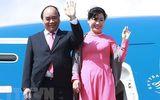 Thủ tướng lên đường thăm chính thức Singapore và dự Hội nghị Cấp cao ASEAN lần thứ 32
