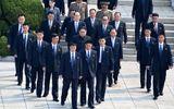 Ông Kim Jong-un và đội cận vệ tinh nhuệ theo sát trong hội nghị thượng đỉnh liên Triều