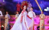 Hoa hậu Đỗ Mỹ Linh làm vedette giữa dàn chân dài tại Festival Huế 2018