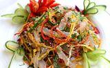 Món ngon bữa trưa: Nộm sứa xoài xanh thanh mát ngày hè