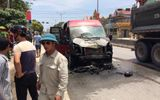 Ôtô khách va chạm xe máy rồi bốc cháy, 2 vợ chồng tử vong thương tâm