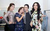 Giám đốc công ty truyền thông Lê Phạm đến chia vui cùng nghệ sĩ Trịnh Kim Chi
