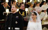 Xúc động khoảnh khắc Hoàng tử Harry rơi nước mắt trong hôn lễ