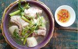 Món ngon bữa trưa: Canh khoai sọ rau rút, món ngon bổ dưỡng