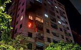 Cháy lớn tại chung cư Vinaconex, cư dân hoảng loạn tháo chạy trong đêm