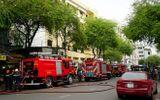 Cháy trụ sở Liên đoàn bản đồ địa chất miền Nam, nhiều người hốt hoảng bỏ chạy