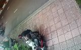 Camera ghi hình thanh niên bẻ khóa, trộm xe máy trong 10 giây