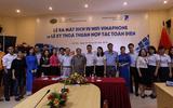 Lễ ra mắt dịch vụ Wifi Vinaphone và Lễ ký thỏa thuận hợp tác giữa VNPT và ĐH Kinh doanh & Công nghệ Hà Nội