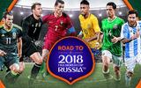 """Danh sách cầu thủ 32 đội tuyển tham dự World Cup 2018: Liệu có """"ngựa ô"""" tỏa sáng?"""