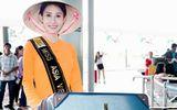 Chi Nguyễn mặc áo bà ba lên đường tham gia Miss Asia World 2018