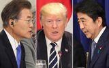 Tổng thống Mỹ điện đàm bất ngờ với 2 nhà lãnh đạo Nhật-Hàn trước cuộc gặp thượng đỉnh