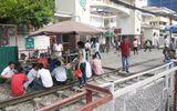 """Hà Nội: Vi phạm hành lang an toàn đường sắt diễn ra như """"cơm bữa"""""""