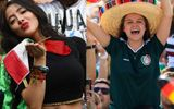 """Fan nữ Mexico """"hâm nóng"""" chiến thắng tại World Cup 2018 bằng những đường cong hút mắt"""