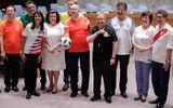World Cup 2018: Các đại sứ LHQ bất ngờ mặc áo đội tuyển đi họp chương trình nghị sự