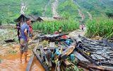 Khung cảnh tan hoang trong mưa lũ ở Hà Giang