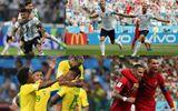 Danh sách 16 đội bóng góp mặt trong vòng 1/8 World Cup 2018