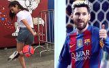 """Video: Messi, Ronaldo cũng """"thán phục"""" màn tâng bóng của những nàng hotgirl này"""