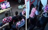 """Video: Phản ứng gây """"sốt"""" của đội cứu hỏa Croatia khi đang xem World Cup thì có chuông báo nhiệm vụ"""