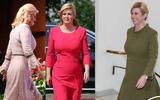 Chi tiết bất ngờ trong gu thời trang thanh lịch của nữ Tổng thống Croatia Kitarovic