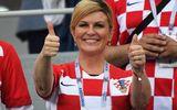 """Nữ tổng thống Croatia giành """"bàn thắng quyết định"""" trên cuộc đua quảng bá hình ảnh"""