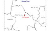 Liên tục xảy ra động đất ở huyện Nam Trà My, Quảng Nam