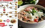 Phở Việt Nam được cư dân mạng thế giới bình chọn là món ăn truyền thống ngon nhất