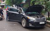 Xe ô tô trị giá gần 2 tỷ đồng bị trộm bỏ lại ven đường Sài Gòn