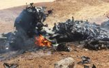 Video: Cận cảnh xác cường kích Su-22 Syria bị Israel bắn rơi