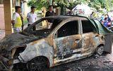 Ô tô của Đại úy CSGT bị đốt cháy ngùn ngụt ngay trước trụ sở công an